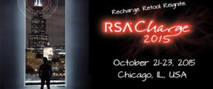 RSA Charge 2015 Event poster