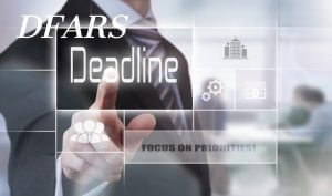 DFARS Deadline businessman