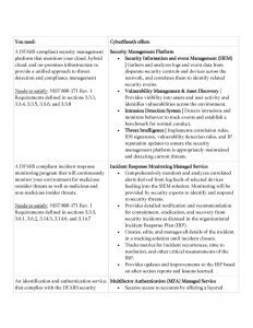 Governanace, Risk, and Compliance Data Table 3