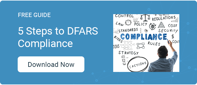 5 Actions to DFARS Compliance Guide